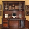 Pergola Executive Grand Style Office Credenza & Hutch Computer Desk