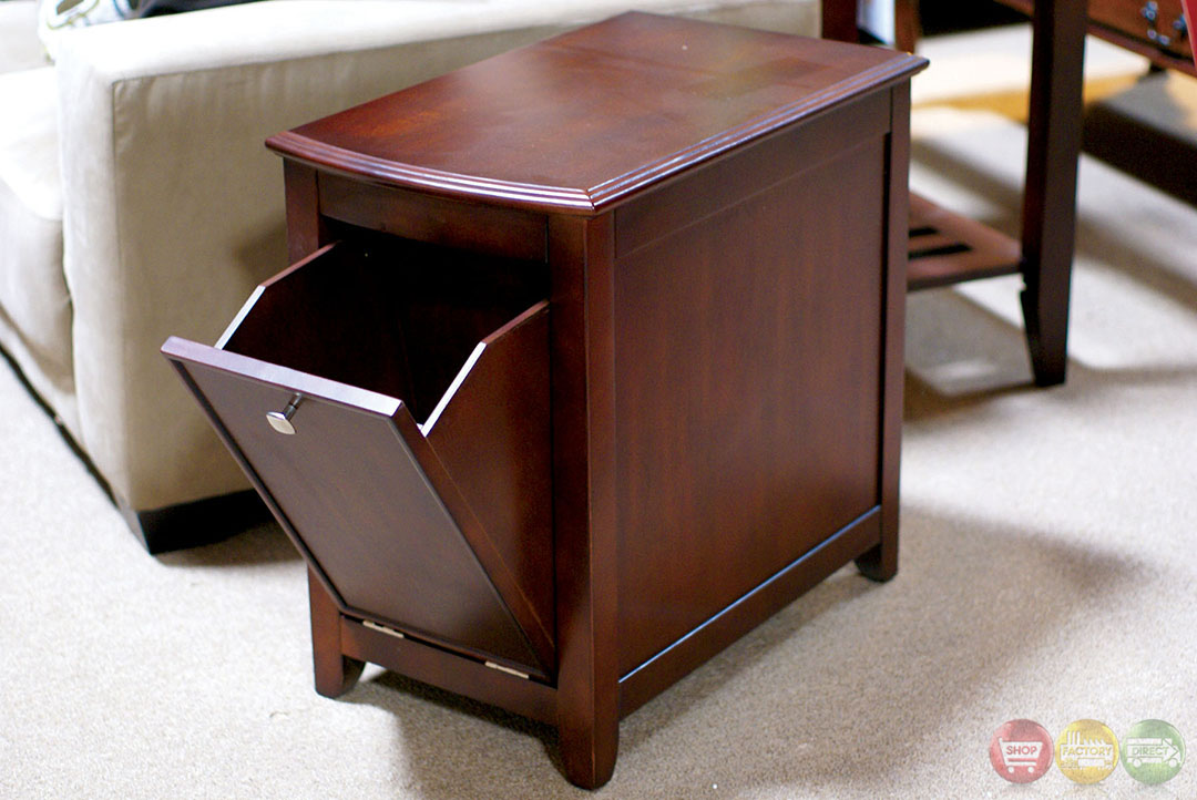 Pine hurst cherry accent tables with 3 drawer coffee table cm4333 Pine coffee table with drawers