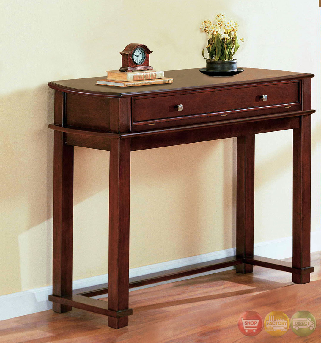 Cherry Side Table ~ Pine hurst cherry accent tables with drawer coffee table