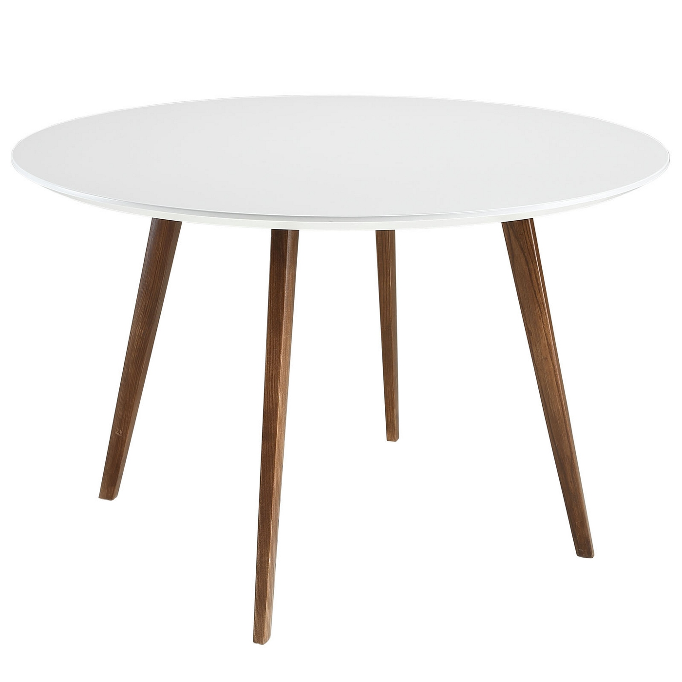 wonderful round white wooden dining table table