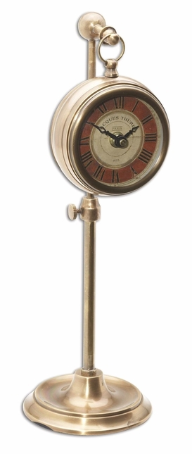 Brass Pocket Watch with Adjustable Telescopic Stand 06068