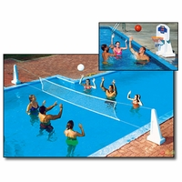 Pool Jam In-Ground Volleyball Basketball Combo - NT200