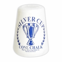 Silver Cup Billiards Cone Talc Hand Chalk in White