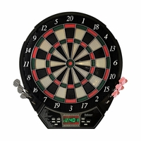"Carmelli Magnum Electronic Soft Tip 15.5"" Dartboard with 26 Built-In Games"
