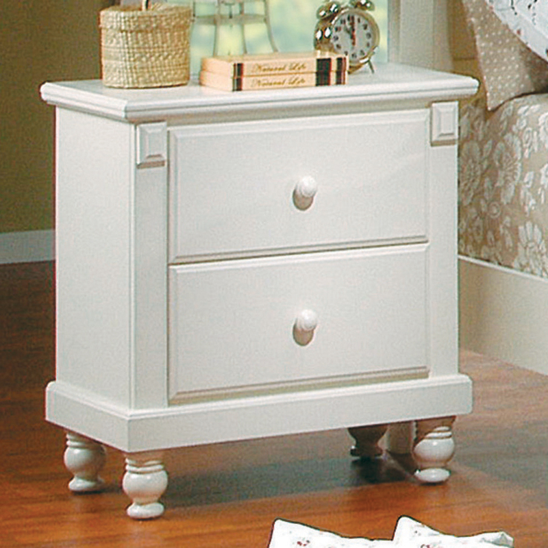 pottery distressed white new england style bedroom