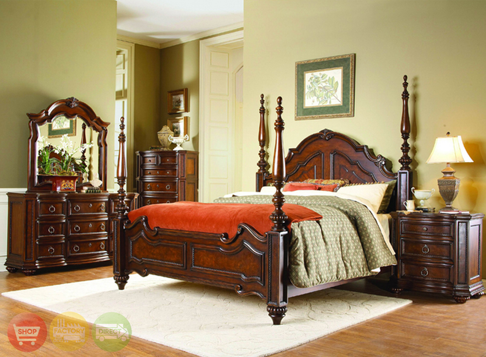 Traditional Bedroom Furniture Of Prenzo Traditional Design Poster Bedroom Furniture Set