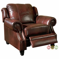 leather reclining chairs living room recliners