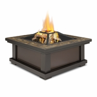 Real Flame Alderwood Outdoor Wood Burning Fire Pit