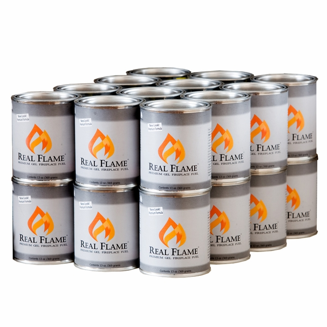 Real Flame Gel Fuel 24 Pack