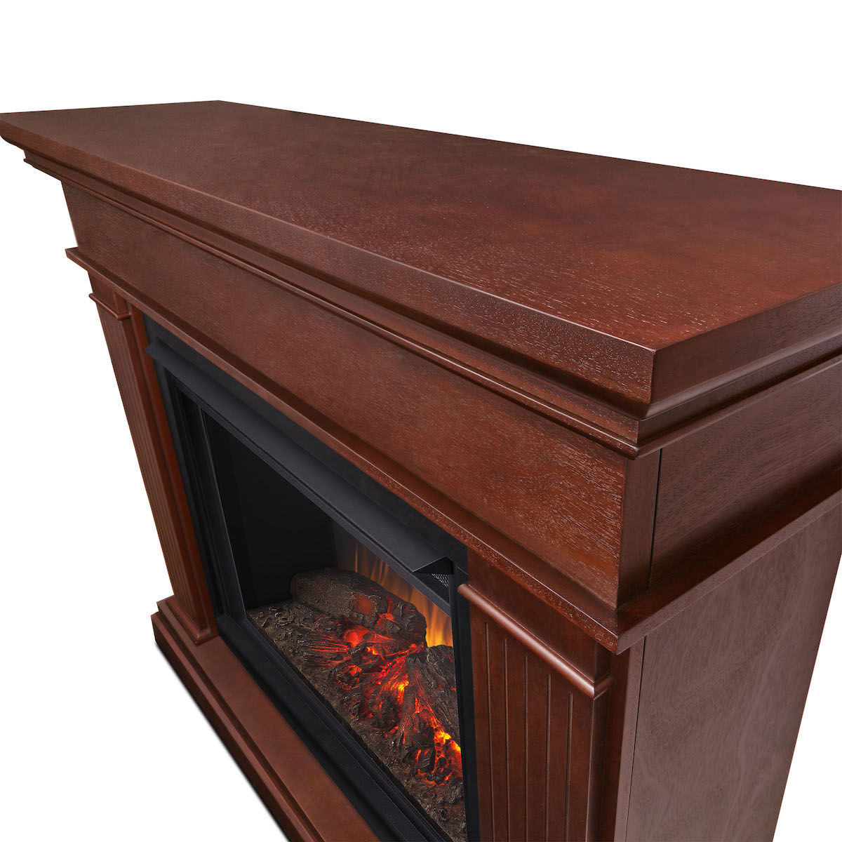 Real Flame Kennedy Grand Electric Fireplace In Dark Espresso