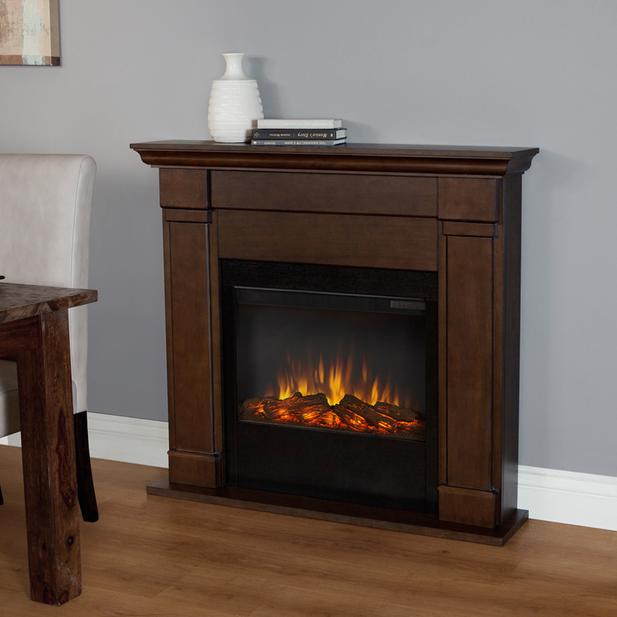 vintage electric flameless fireplace jpg 1200x900