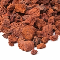 Real Flame Red Lava Rock 20lb