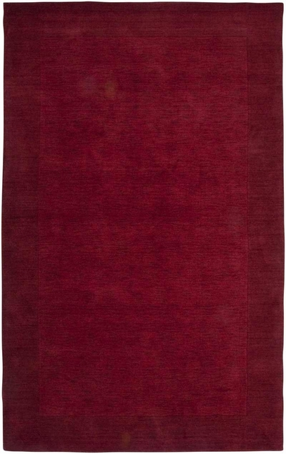 Rizzy Rugs Red Solid Hand Loomed Area Rug Platoon PL0866