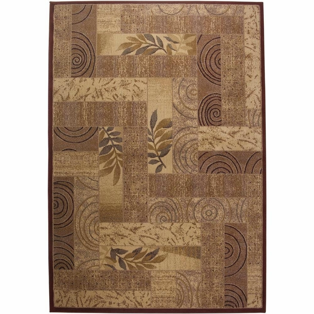 Rizzy Rugs Red Transitional Power Loomed Area Rug Bellevue BV3204