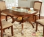 Redding I Transitional Oak Casual Dining Set with Padded Fabric Seat