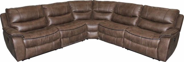 Remus Transitional Stone Godiva Modular Power Reclining Sectional Sofa