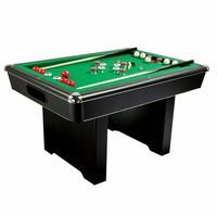 Carmelli Renegade 54-in Slate Bumper Pool Table in Black w/Green Felt & Accessories