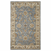 Rizzy Rugs Light Gray Traditional Hand Tufted Area Rug Volare VO1427