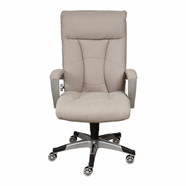free shipping 17b1a 46312 Royston Sealy Posturepedic Beige Fabric Cool Foam Office ...