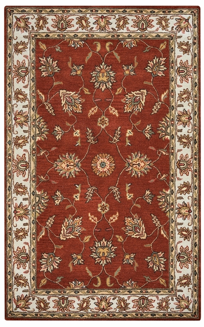 Rizzy Rugs Rust Traditional Hand Tufted Area Rug Volare VO1244