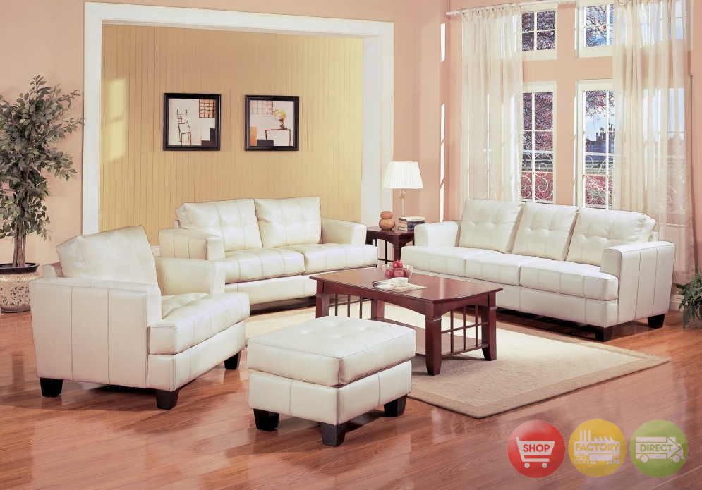 cream living room furniture