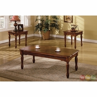 San Carlos Cherry Accent Tables Set