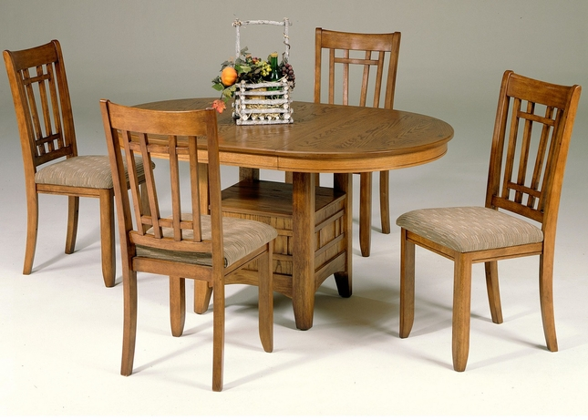 Santa Rosa Mission Style Casual Dining Table Set