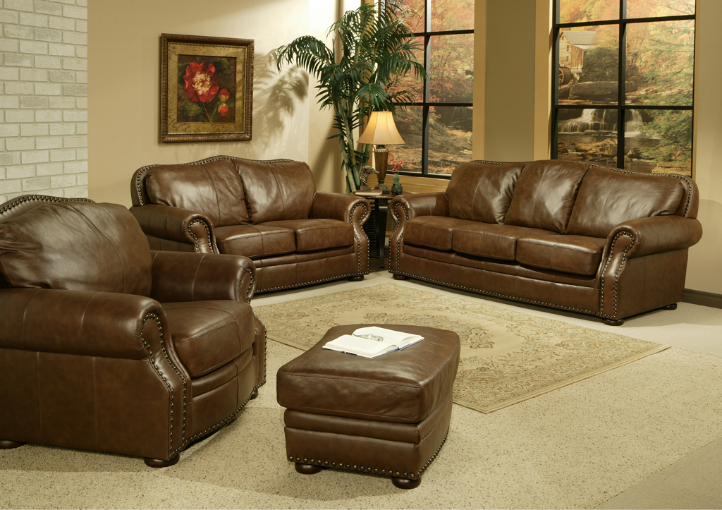 Vig for Traditional living room ideas with leather sofas