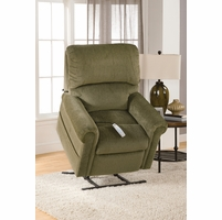 Serta Comfortlift Brookfield Forest Green Reclining Lift Chair
