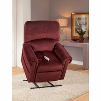 Serta Comfortlift Brookfield Wine Red Reclining Lift Chair With USB Outlet