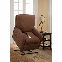 Serta Comfortlift Essex Brown Reclining Lift Chair With Gel Foam & USB Outlet