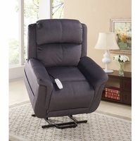 Serta Comfortlift Hampton Two Motor Power Lift Recliner in Slate