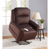 Serta Comfortlift Hampton Two Motor Power Lift Recliner in Walnut