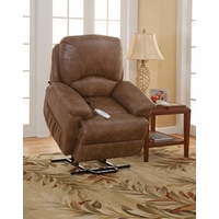 Serta Comfortlift Mystic Brown Wall Hugger Reclining Lift Chair With USB Outlet