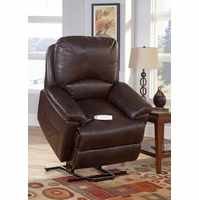Serta Comfortlift Mystic Brown Wall Saver Reclining Lift Chair Backup Battery