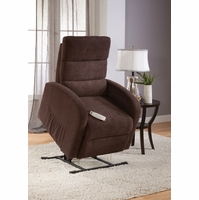 Serta Comfortlift Newton Java Brown Reclining Lift Chair With USB Outlet