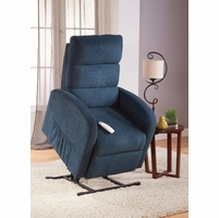 Serta Comfortlift Newton Petrol Blue Reclining Lift Chair With USB Outlet