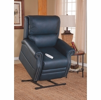 Serta Comfortlift Sheffield Kelp Blue Reclining Lift Chair With Backup Battery