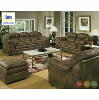 Serta Matador Microfiber Sofa & Love Seat Casual Living Room 5750