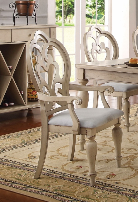 Absolon French Country Fabric Arm Chair