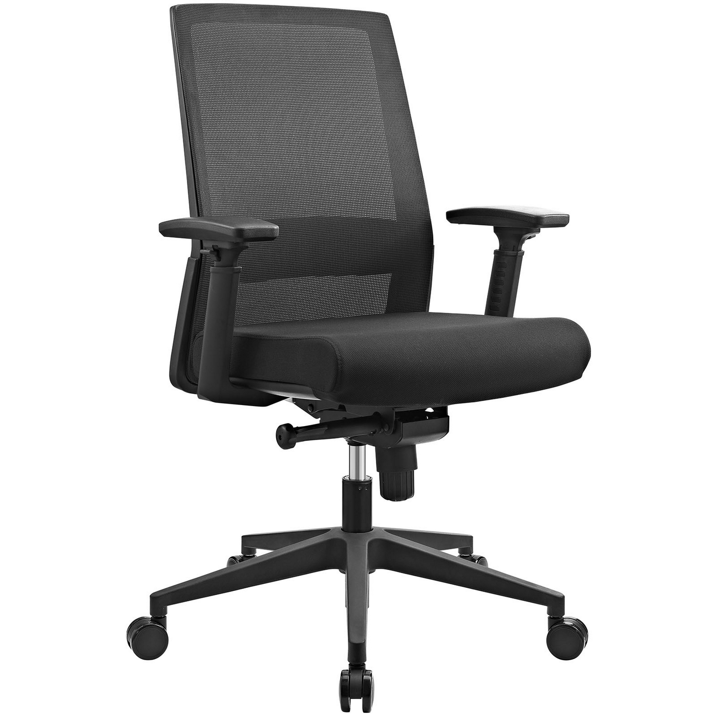 shift ergonomic mesh back office chair with lumbar support black. Black Bedroom Furniture Sets. Home Design Ideas