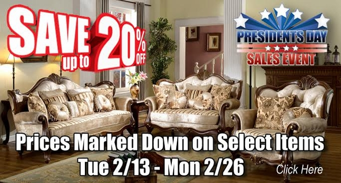 Shop Factory Direct Presidents Day Sale 2018
