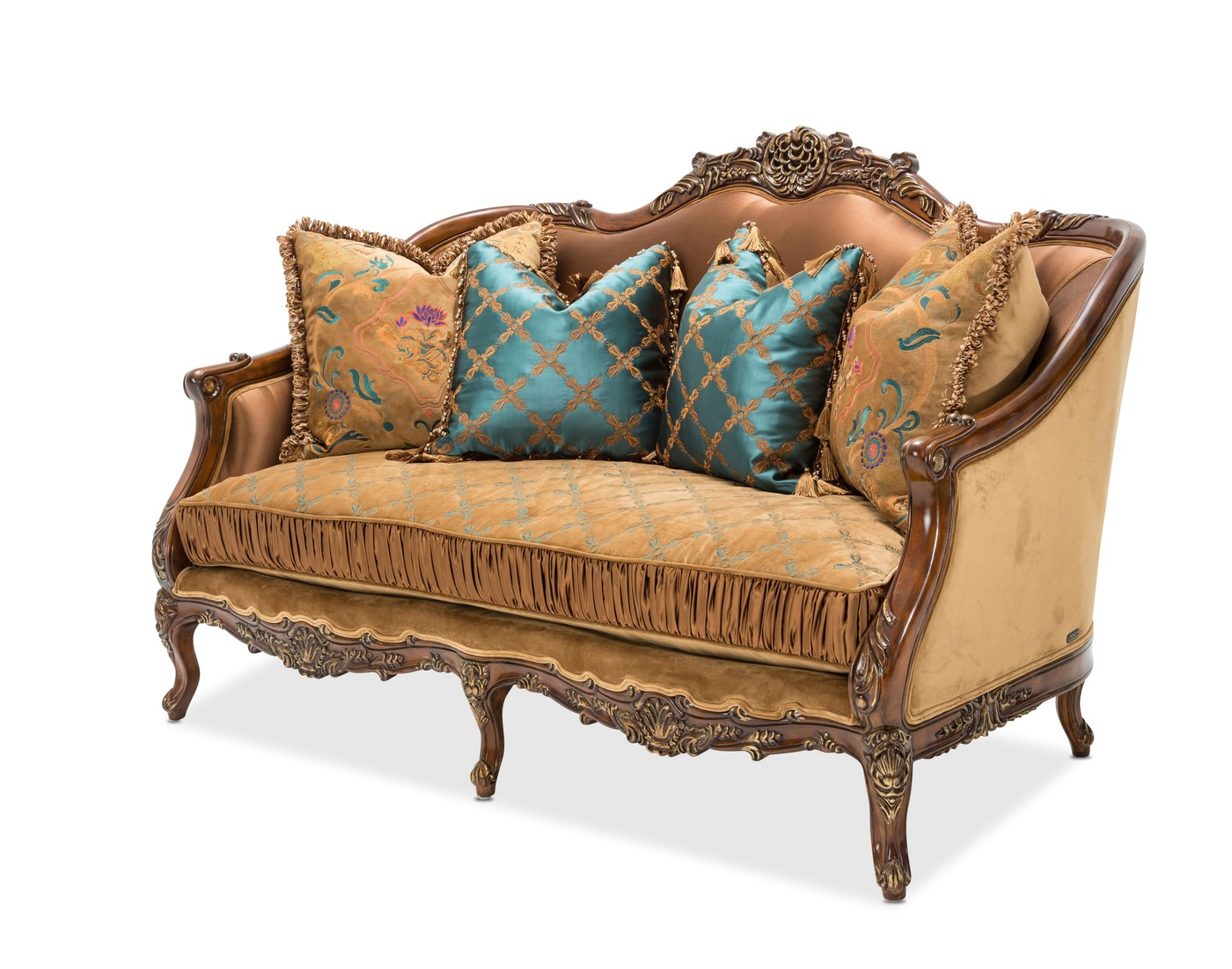 Victorian Style Loveseat Sienna Sofa Shop Factory Direct