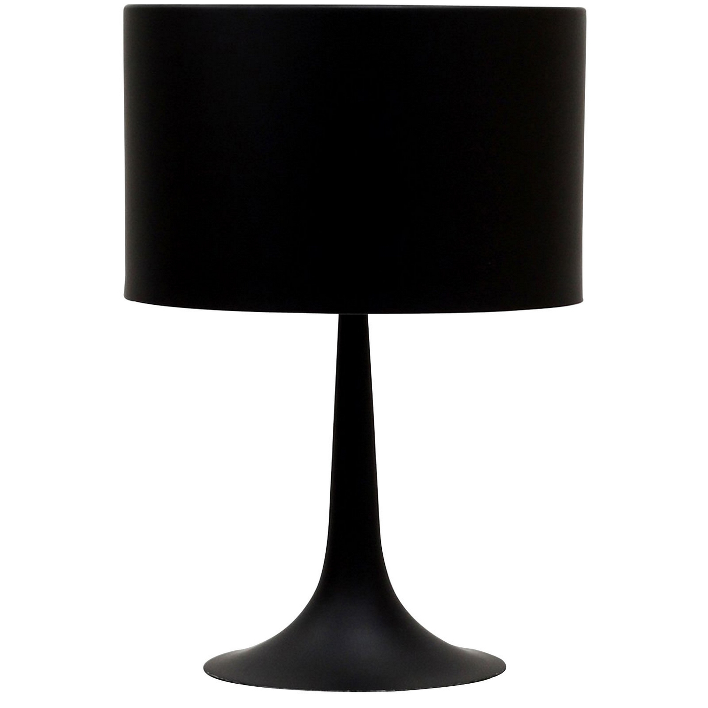 Silk Contemporary Table Lamp With Aluminum Pedestal Base