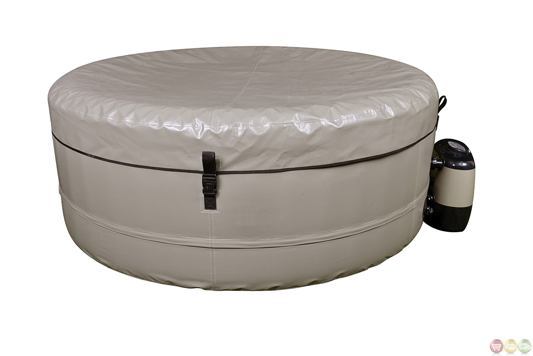 Instant Hot Tub : Simplicity puncture resistant spa inflatable hot tub