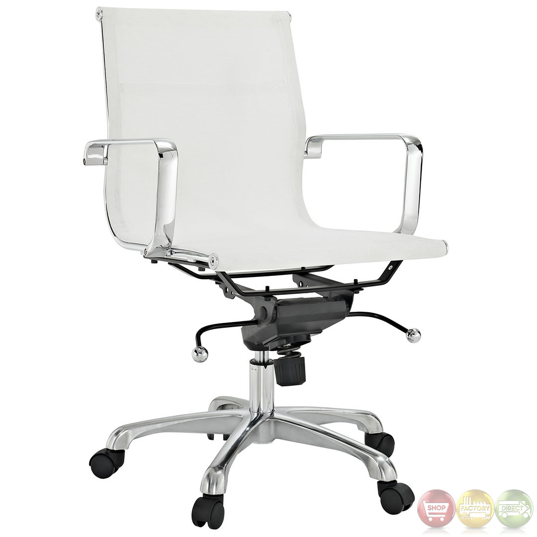 Slider Mesh Contemporary Modern Office Chair With