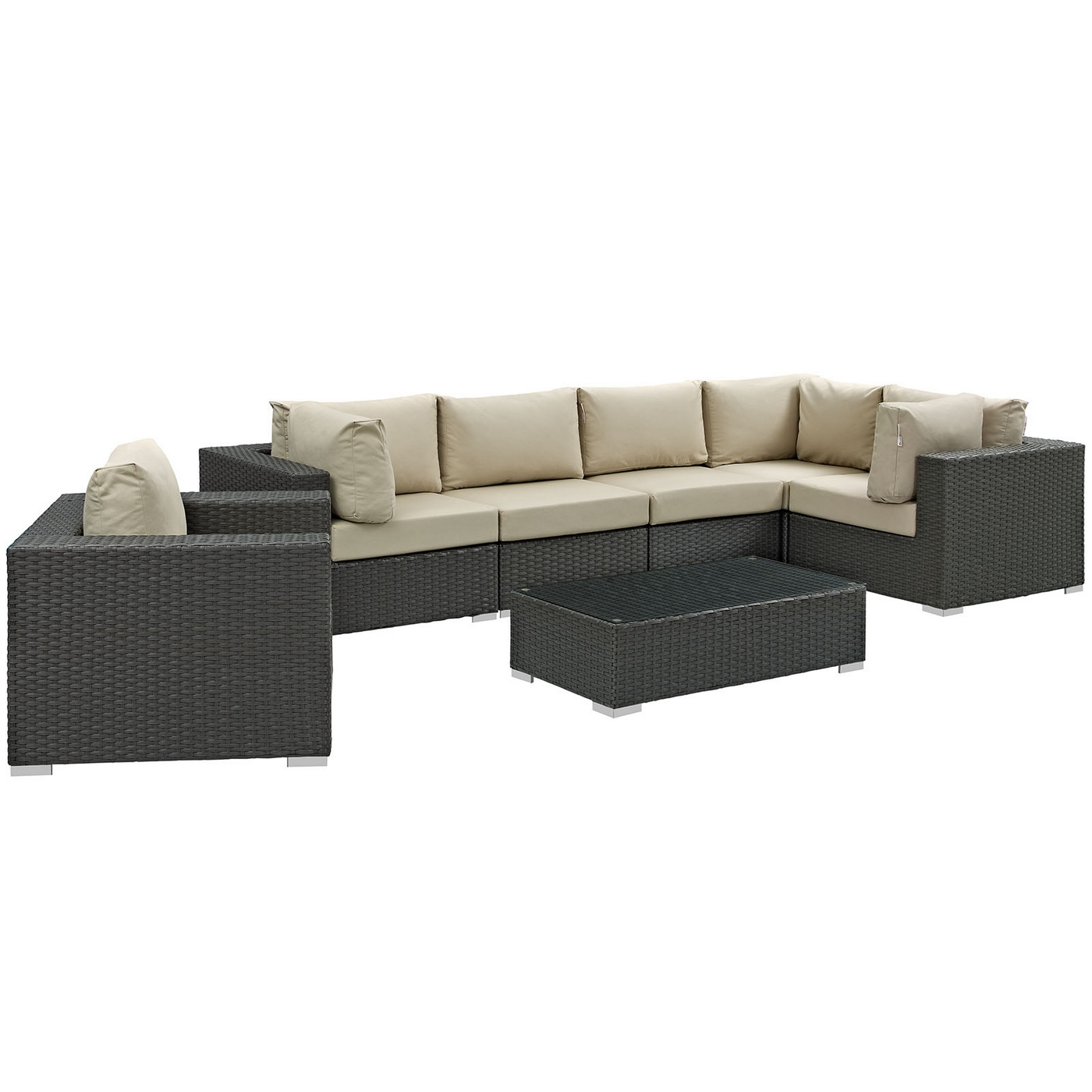 Outdoor Sunbrella Sectional Sofa
