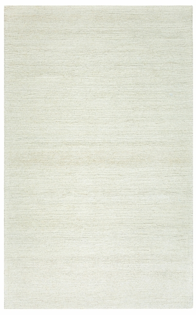 Rizzy Rugs Solid White Solid Hand Tufted Area Rug Country CT1357