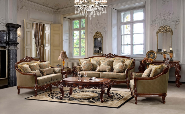 European Living Room Furniture | Traditional European Furniture