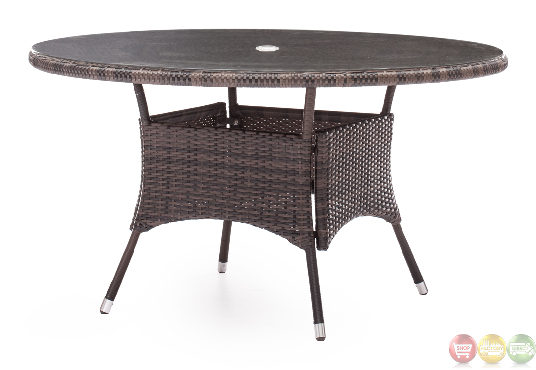south bay brown dining table zuo modern 703030 modern
